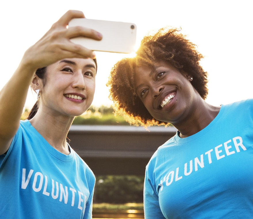 Volunteers for non-profits